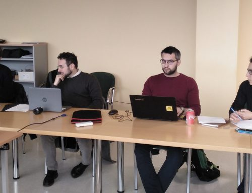 A Coruna meeting of the RePers project's consortium