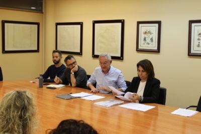 De izqda. a dcha.: Robson Galvao, José A. Brandariz, José Luis González Cussa, Vicenta Cervelló