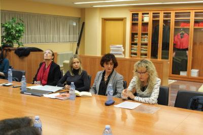 De izqda. a dcha.: Marisa Cuerda, Cristina Guisasola, Inma Valeije, Margarita Roig
