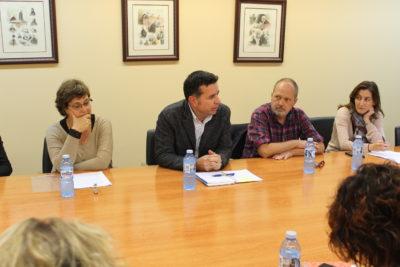 de izqda. a dcha.: Asunción Colás, Alberto Alonso, Javier Mira, Lucía Martínez Garay