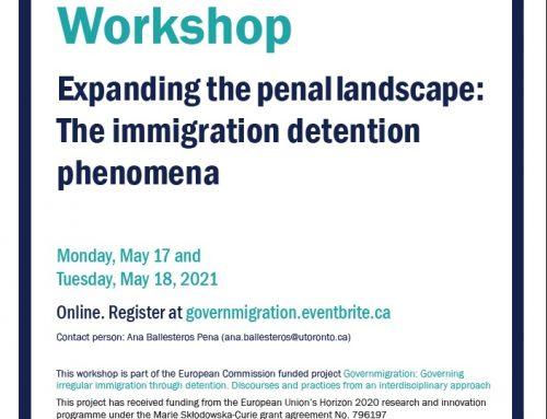 International Workshop. Expanding the penal landscape: The immigration detention phenomena